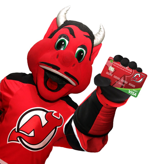 investors bank launches the new jersey devils checking account